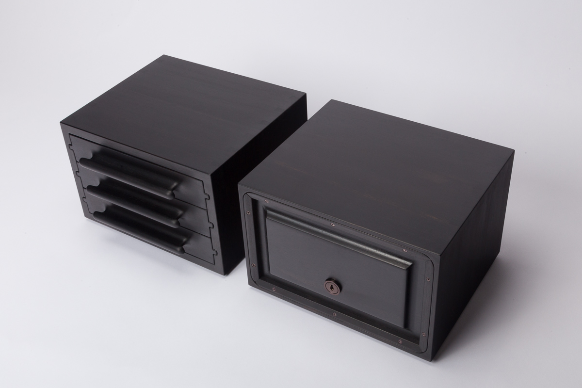 Ebony Jewelry Chests