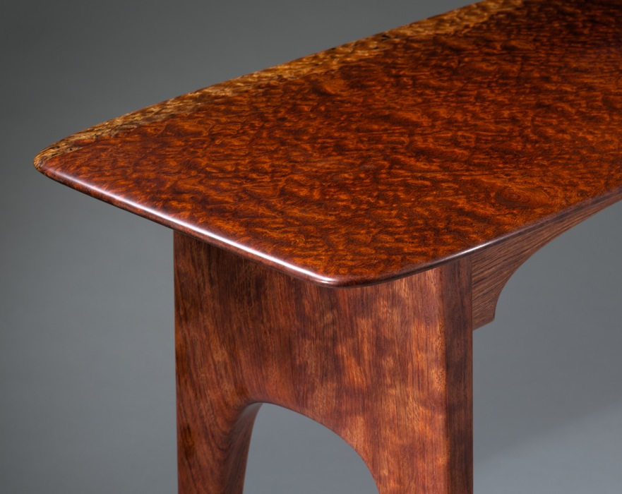 Bubinga Hall Table